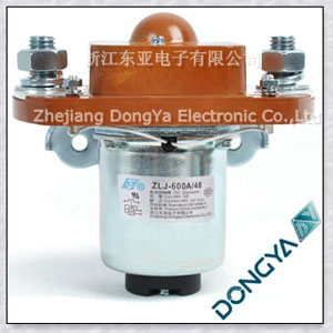 High voltage DC contactor supplier-DC contactor ZLJ-600A